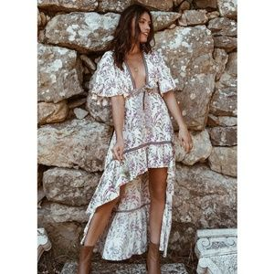 Bohemian Floral Chic Whimsy Dress
